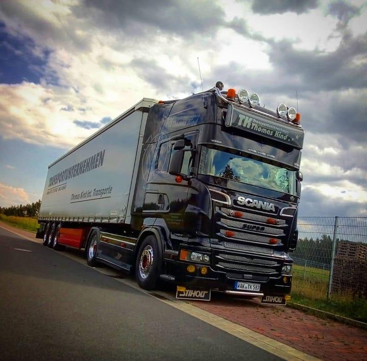 Scania V8 560 2