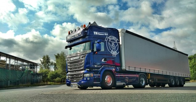 Scania V8 580